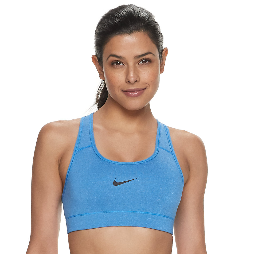 Nike Victory Compression Dri Fit Medium Impact Sports Bra 375833