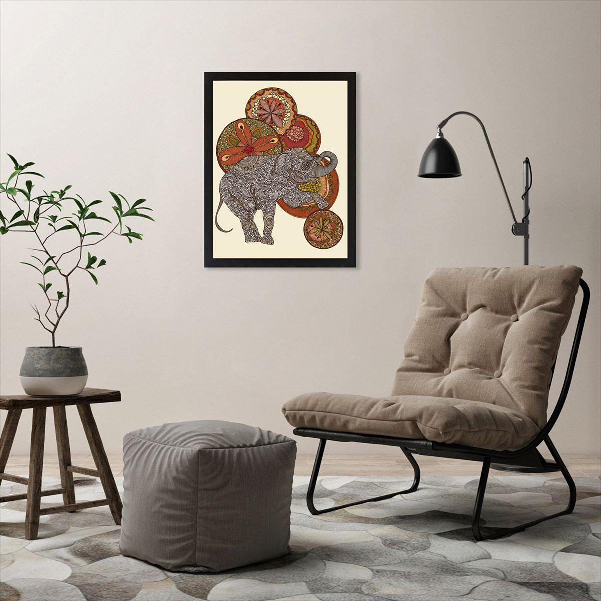 Americanflat ''Dear Horatio'' Elephant Framed Wall Art 1bycl