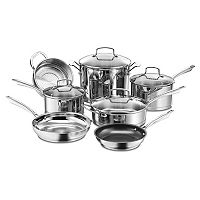 Deals on Cuisinart Professional Stainless Steel 11-pc Cookware Set