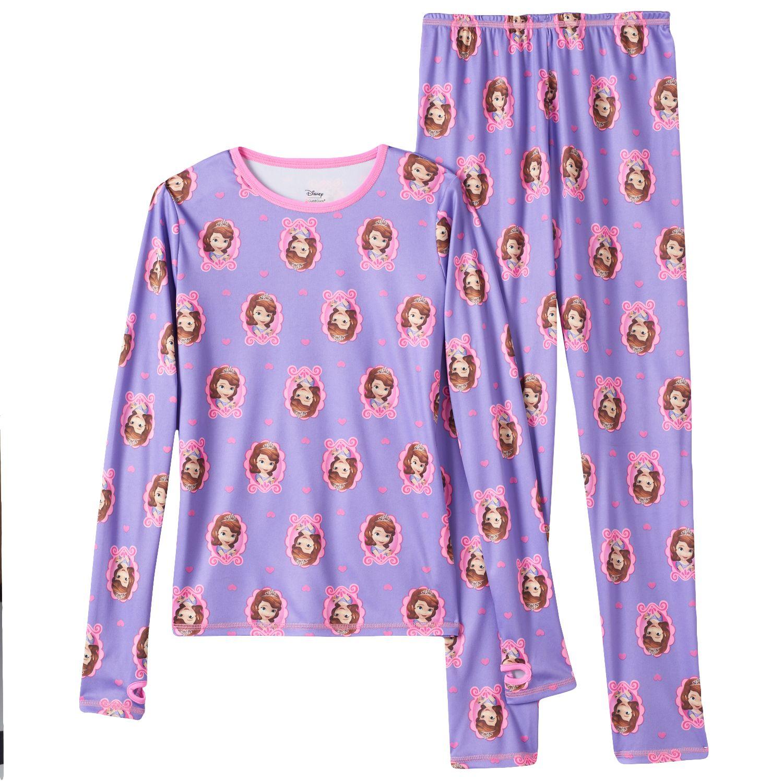 Cuddl Duds Girls LOL Surprise 2-Piece Stretch Poly Long Underwear Set