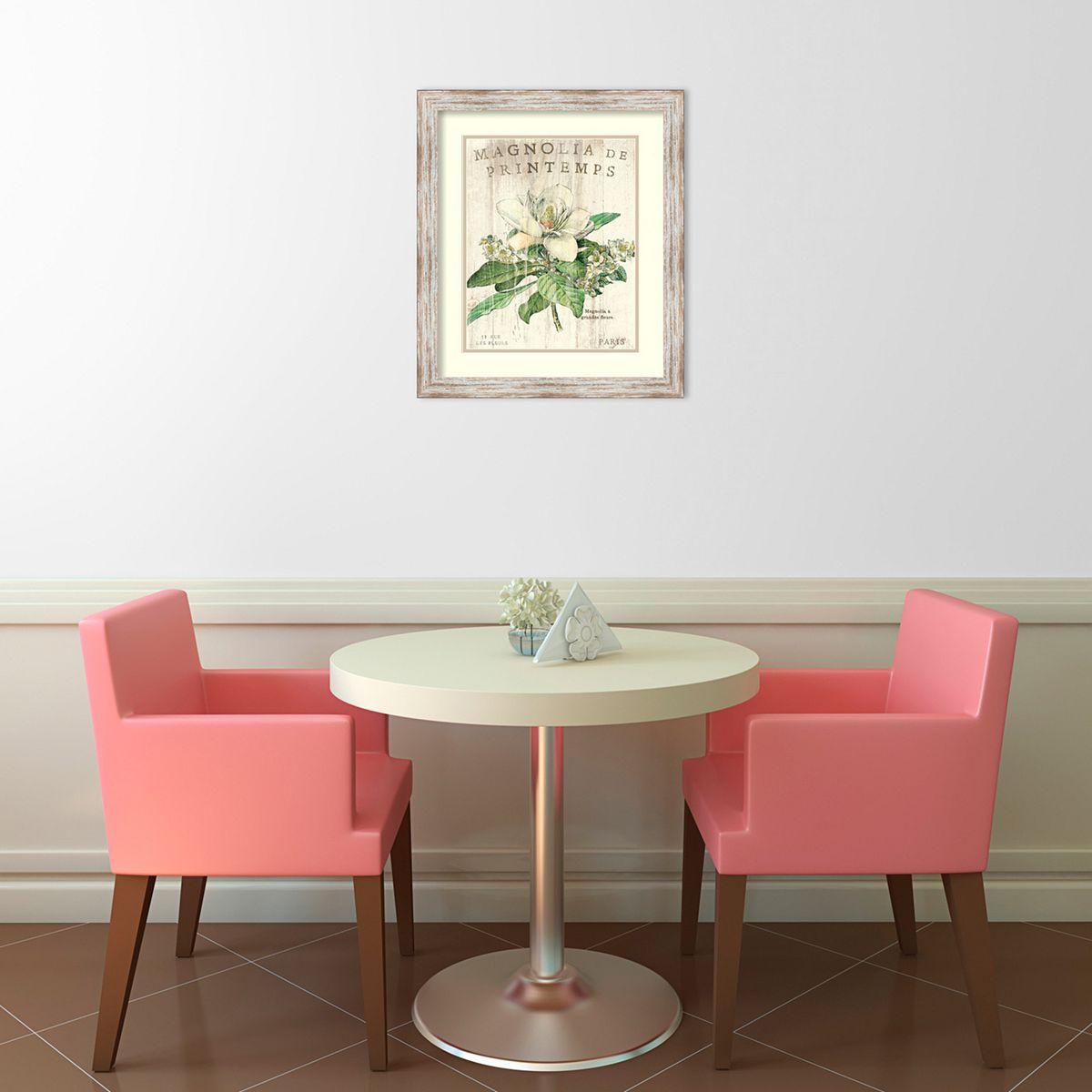 ''Magnolia de Printemps'' Framed Wall Art LYQSE