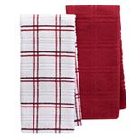 Food Network? Plaid Kitchen Towel 2-pack