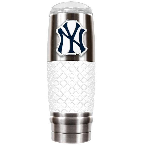 New York Yankees 30-Ounce Reserve Stainless Steel Tumbler QQ3om