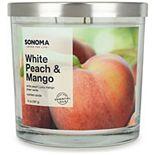 SONOMA Goods for Life® White Peach & Mango 14-oz. Candle Jar
