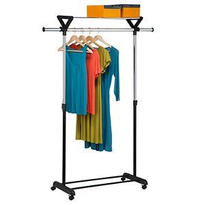 Honey-Can-Do Top Shelf Garment Rack