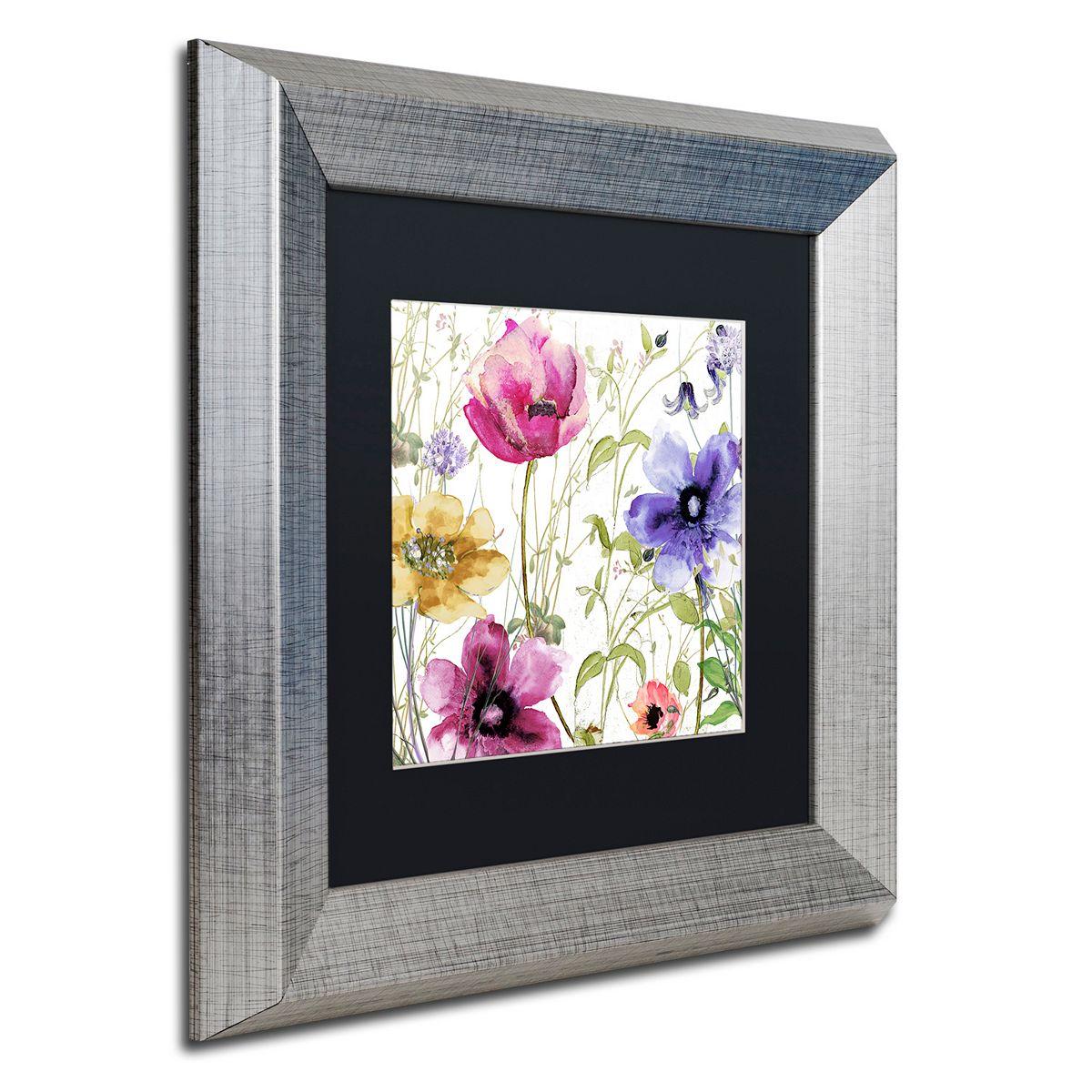 Trademark Fine Art Summer Diary I Framed Wall Art Black rOCGX