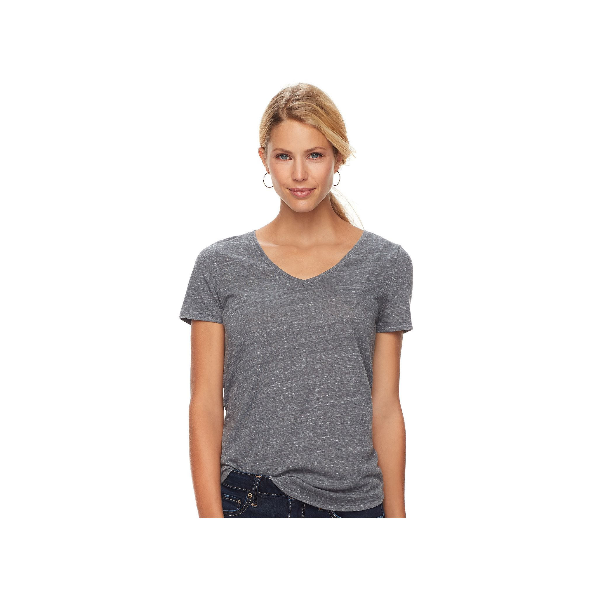 Women's SONOMA Goods for Life® Essential V-Neck Tee