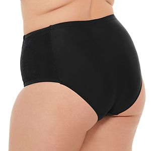 Plus Size Costa Del Sol High-Waisted Bikini Bottoms