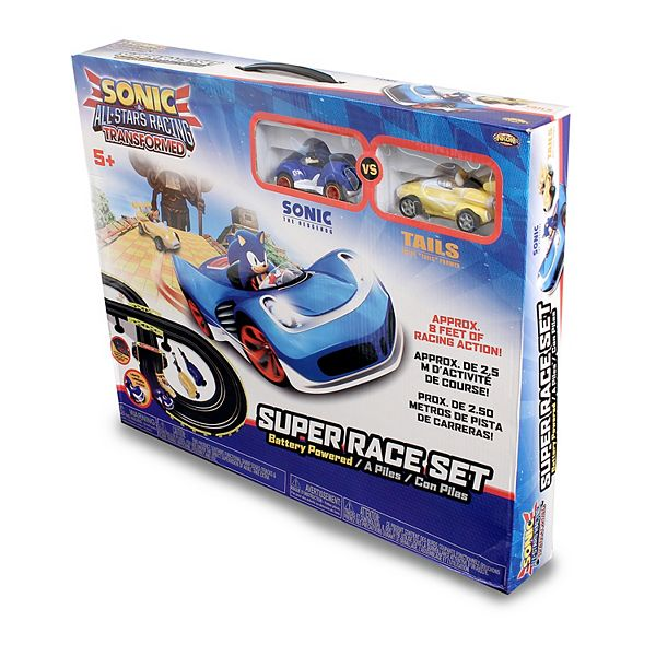 Nkok Sonic The Hedgehog Sonic Tails Remote Control Car Race Track