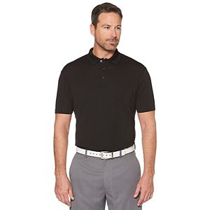 Big & Tall Grand Slam Driflow Regular-Fit Mini-Ottoman Textured Pocketed Performance Golf Polo