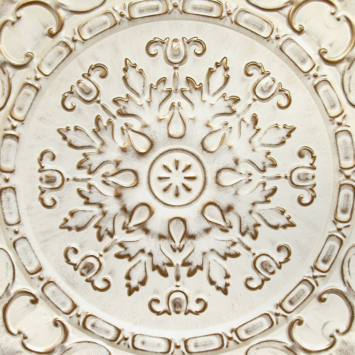 Stratton Home Decor Shabby Chic Medallion Wall Decor VPMUP
