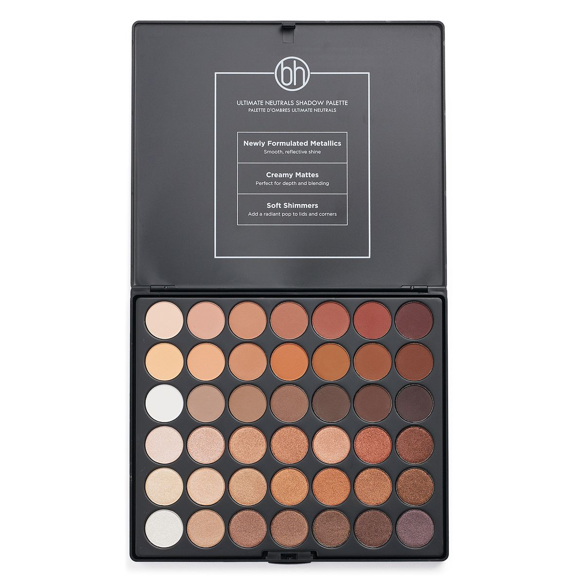 BH Cosmetics Studio Pro Ultimate Neutrals 42 Color Eyeshadow Palette- Such beautiful colors  ONLY .00 