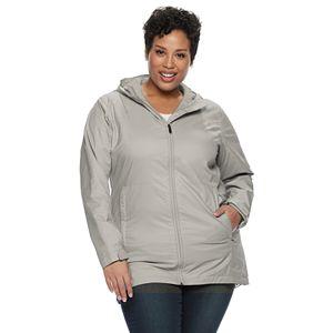 Plus Size Columbia Switchback Lined Rain Jacket