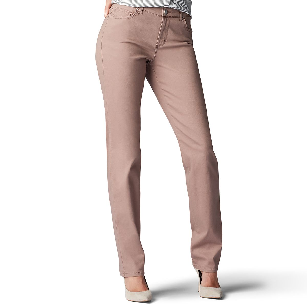 Petite Lee® Relaxed Fit Straight-Leg Jeans- .60! Great price!