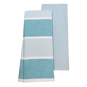 Food Network? Textured Striped Kitchen Towel 2-pack