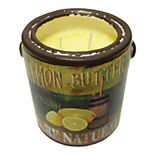 A Cheerful Giver Farm Fresh Ceramic Jar Candle - Lemon Butter