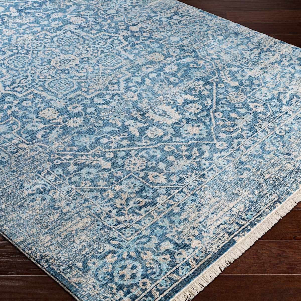 Decor 140 Astra Distressed Medallion Area Rug vlG5O