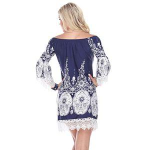 Women's White Mark Mya Dress