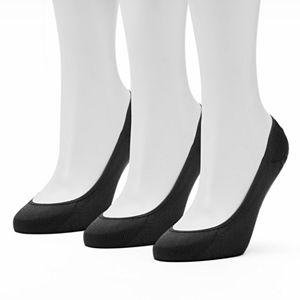 Women's Apt. 9® 3-pk. Low-Cut Microfiber Liner Socks