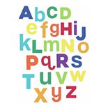 RoomMates Multicolored Alphabet Wall Decals