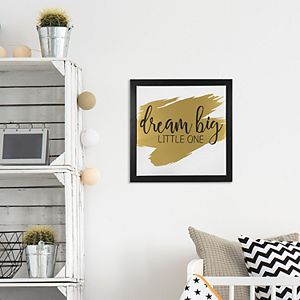 Linden Ave Dream Big Little One Canvas Wall Decor