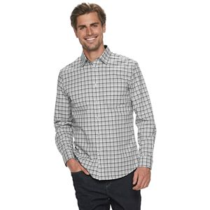 Men's Apt. 9 Non-Iron Modern-Fit Button Front Shirt