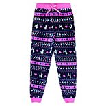 Girls 4-16 Jellifish Festive Pattern Sleep Pants