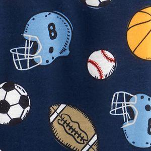 Baby Boy Carter's Sports Zip Sleep & Play
