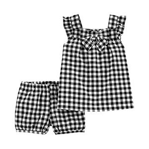 Baby Girl Carter's 2-Piece Gingham Tank & Short Set