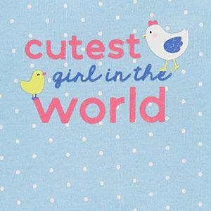 Baby Girl Carter's 3-Piece Chicken Character Set