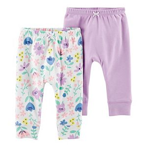 Baby Girl Carter's 2-Pack Pull-On Pants