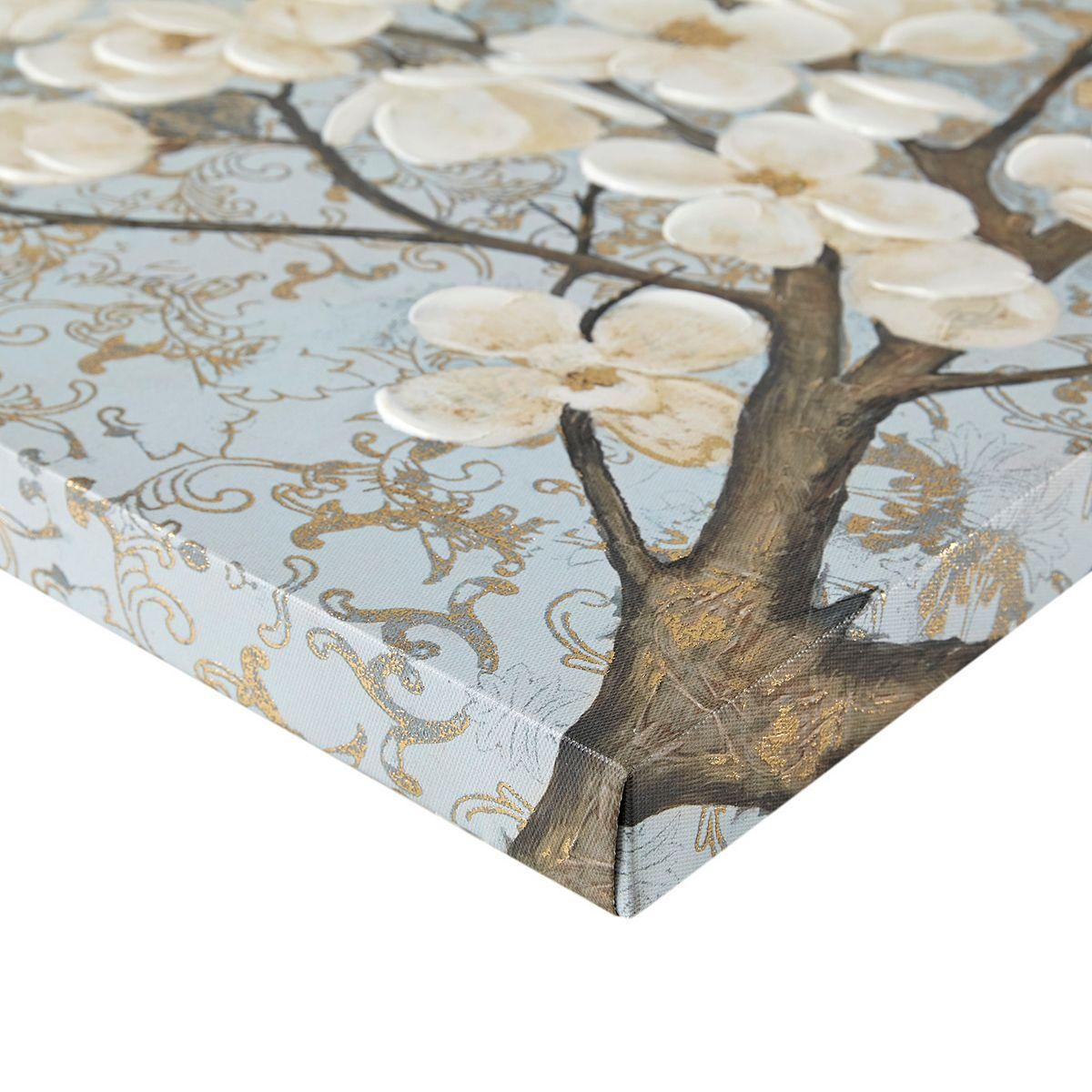 Madison Park Luminous Bloom Foil Canvas Wall Art 9MAtT