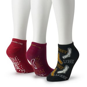 Women's Harry Potter 3-pack Dobby Low Cut Socks