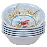 Certified International Ocean View 6-pc. All-Purpose Bowl Set