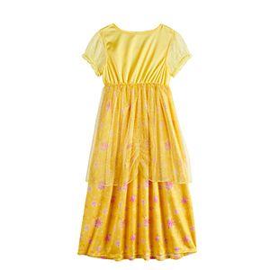 Disney's Princess Belle Girls 4-8 Fantasy Nightgown