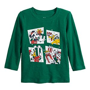 Disney's Mickey Mouse Baby Boy Presents Graphic Tee by Jumping Beans®
