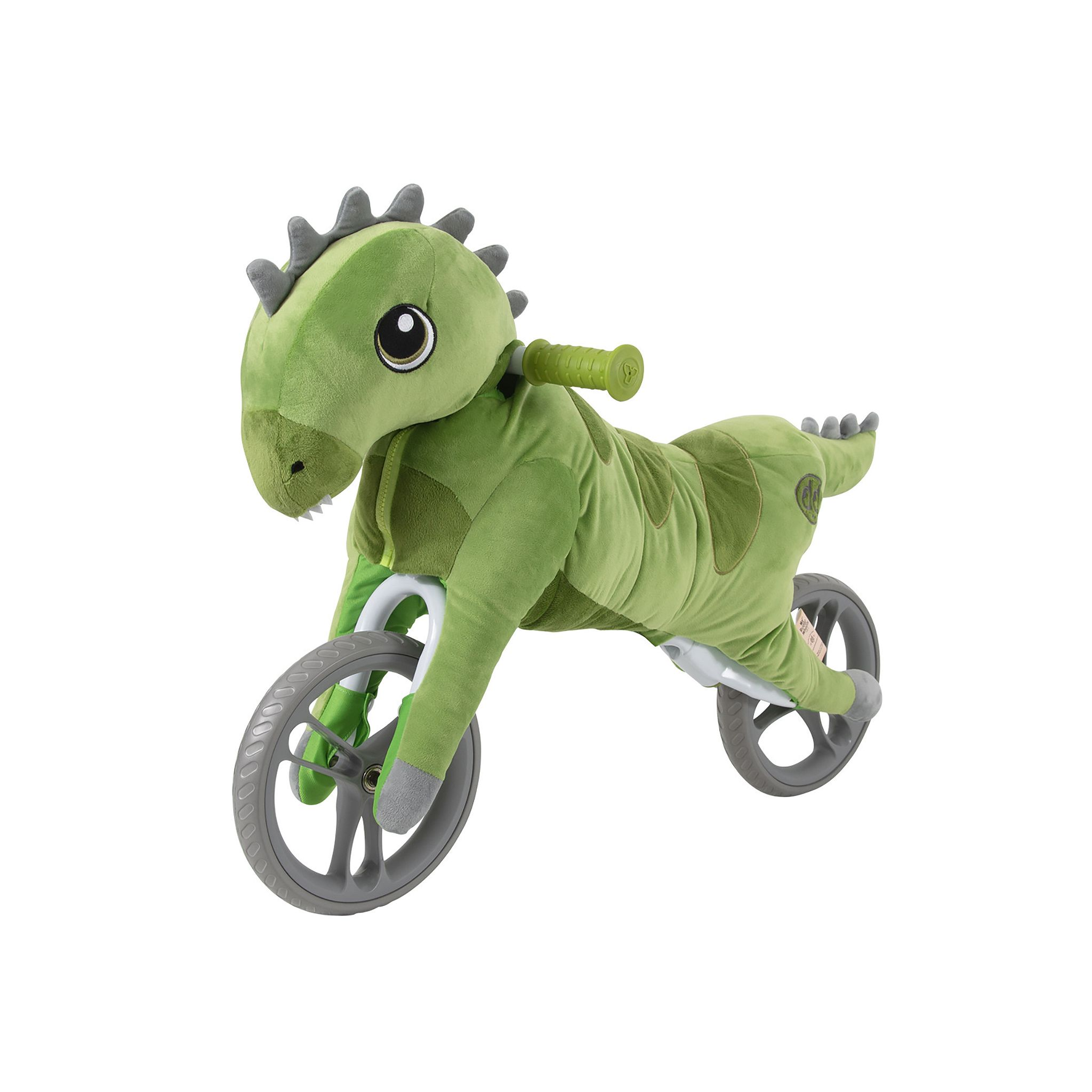 Yvolution My Buddy Wheels Dino Balance Bike with Plush Toy