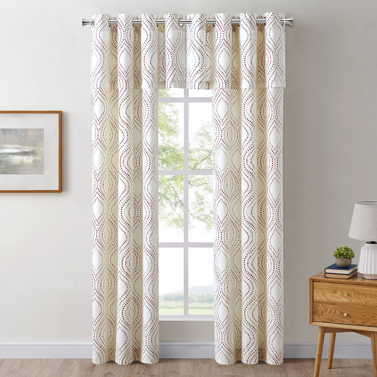 The Big One® Mindi Decorative Window Valance LZvYT