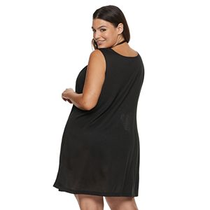 Plus Size Apt. 9 Ring Tank Dress