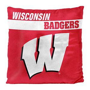 Wisconsin Badgers Decorative Throw Pillow