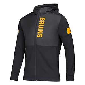 Mens Boston Bruins Game Mode Full Zip Jacket