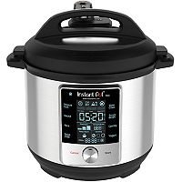 Instant Pot 60 Max 6-Quart 9-In-1 Electric Pressure Cooker (Stainless Steel/Silver)