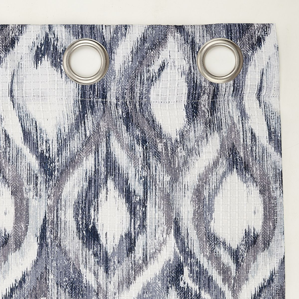 The Big One® Illona Ikat Ogee Grommet Curtain Valance 8EB39