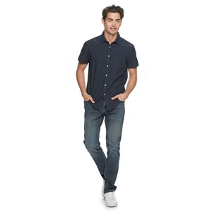 Men's Marc Anthony Casual Slim-Fit Short Sleeve Shirt