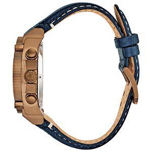 Bulova Men's Precisionist Chronograph Leather Watch - 97B186