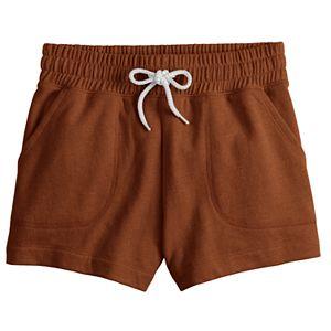 Juniors' SO® Porkchop Pocket Midi Shorts