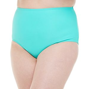 Plus Size adidas High-Waisted Bikini Bottoms
