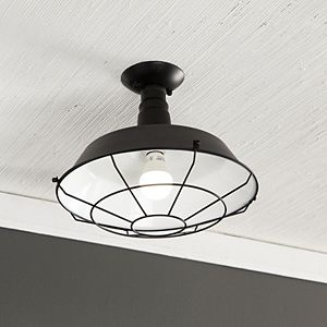 Southern Enterprises Amero Flush Mount Pendant Lamp