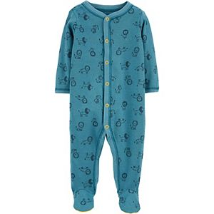 Baby Boy Carter's Lion Snap-Up Thermal Sleep & Play