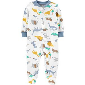 Baby Boy Carter's Dinosaurs 2-Way Zip Cotton Sleep & Play